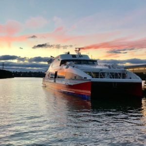Blue Mountains ferry cruise return to city